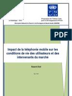 RapportFinal Etude Telephonie Pauvrete