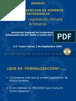 LegislacionMineraArtesanal,Peru