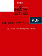 Lord Justice Sedley - Freedom, Law and Justice.pdf