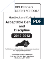 2012-2013 Handbook With Cover