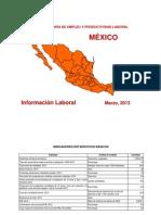 Empleo y Productividad Laboral Al 2012