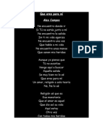 Letras Cancionero-Alex Campos