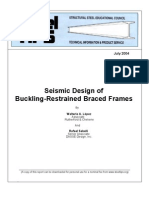 SSEC 2004 Seismic Design of Buckling-restrained Braced Frames 78p