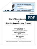 SSEC 2002 Use of Deep Columns in Special Steel Moment Frames 41p