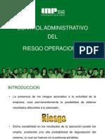 Control Del Riesgo Operacional