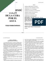 Sistema Hindú Yogui de La Cura por el Agua