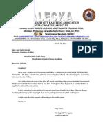 Letter Cedric Daep MF13