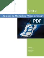 Analisis de Mercado Nike Run Air Max 2012
