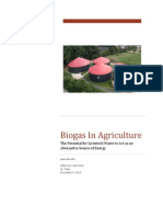 Biogas In Agriculture: