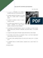 Juan Carlos Onetti - Decálogo para los escritores principiantes