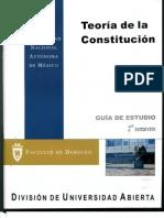 1217. Teoría de la Constitución (guía de estudios)