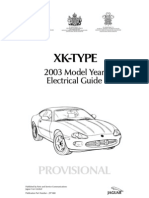 Jaguar XK- TYPE 2003 Model Year Electrical Guide