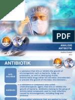 ANALISIS Antibiotik