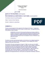 Evidence- Pp vs Padrones