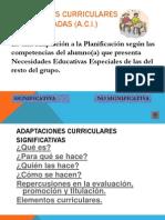 ppt Adecuaciones Curriculares