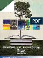 MAA 2013 Catalogue