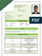 Resume Muhammad Faridzul Bin Zainal Abidin