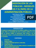 Exposicion Implementacion de Politicas Publicas.