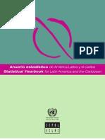 Anuario estadístico de América Latina y el Caribe 2011