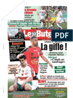 LE BUTEUR PDF du 21/03/2009