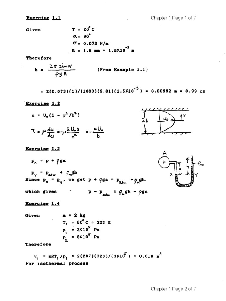 Fluid Mechanics 4e Solutions - Kundu Cohen   Momentum   Calculus Of  Variations