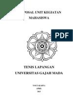 Proposal Unit Kegiatan Mahasiswa
