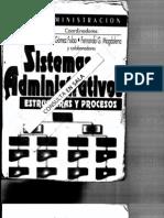 Sistemas Administrativos Estructuras y Procesos. Gomez Fulao J