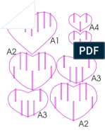 Solid Slice Form Heart