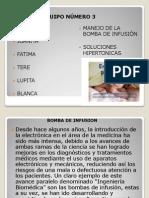 BOMBA DE INFUSIÓN BLANCA COMPLETA