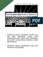 BAB4-INTERFERENSI-CAHAYA