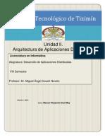 Unidad II Desarrollo de Aplicaciones Distribuidas