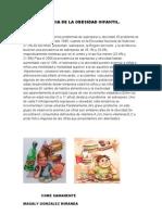 La Importancia de La Obesidad Infantil