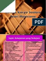 Contoh Karya Sastera marxisme