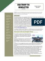 BSA Newsletter April 2013