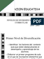 Carcaterización de aula presentación