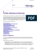 PL-SQL Collections and Records
