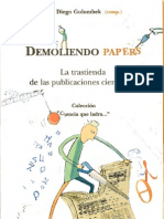 Demoliendo Papers (Diego Golombek)