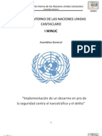 Temario AG - Narcotrafico