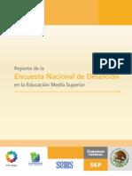 Reporte 2012 de La ENDEMS