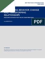 mR141 - Facilitating Behavior Change and Transforming Relationships