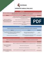 Plan Operativo Cooperativa Politecnica