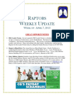 Raptor Update