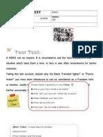 Test Writing Task