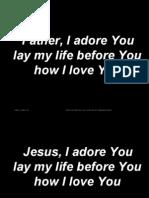 father, i adore you