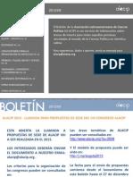 Boletín Alacip Septiembre 2012