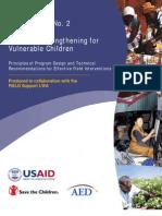FIELD Report 02 - Economic Strengthening for Vulnerable Children