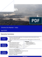 Market Research Report :Chrome Ore Market in India 2013