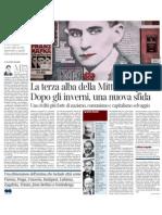 La Terza Alba Della Mitteleuropa, Di Claudio Magris - Corriere Della Sera 09.04.2013