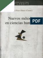 Prior Olmos, Angel Nuevos Metodos en Ciencias Humanas