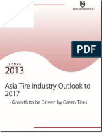 Asia Tire industry to reach USD 406,431.1 million by 2017